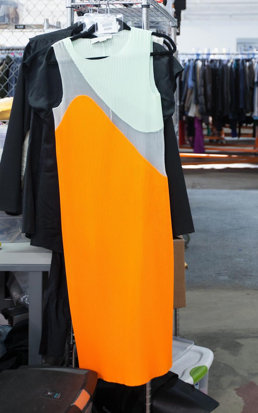 stella-mccartney-mint-orange-dress