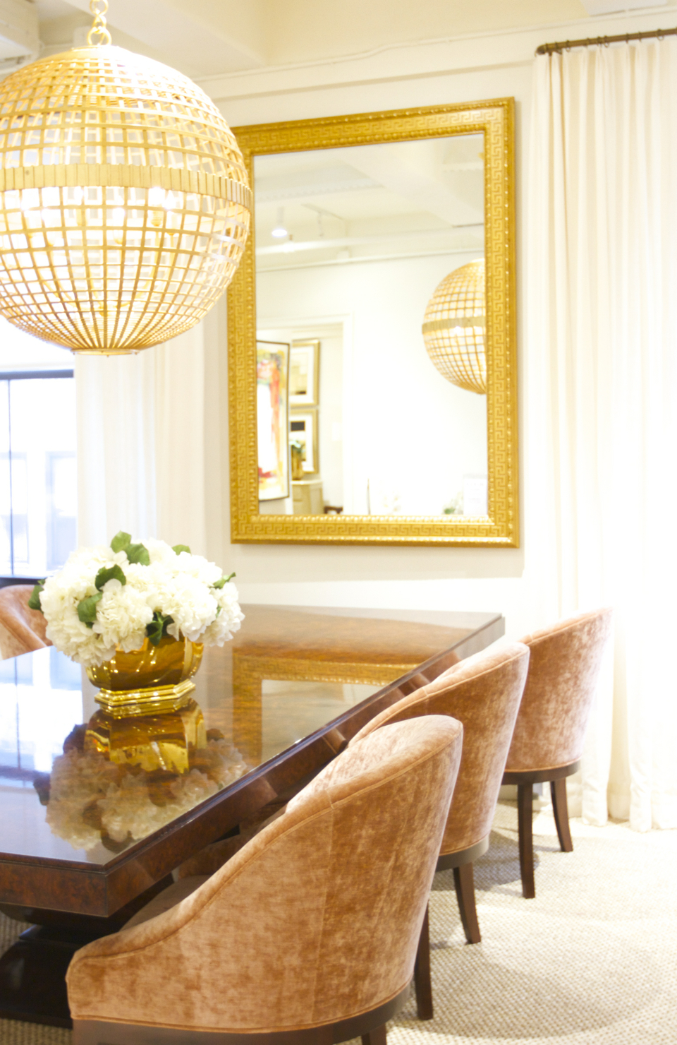 My Home Decor Guide: AERIN Gold Home Decor Inspiration