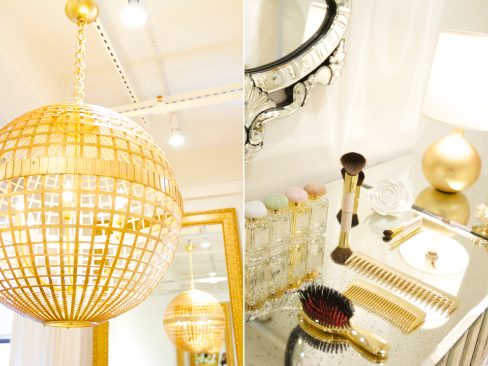 gold everything a la aerin - Gold Home Decor