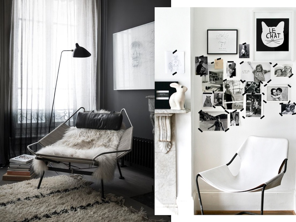 home decor black and white home inspiration