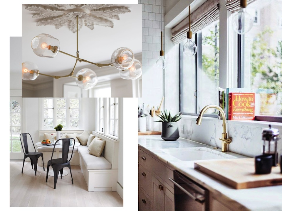 home decor kitchen brass accents inspiration