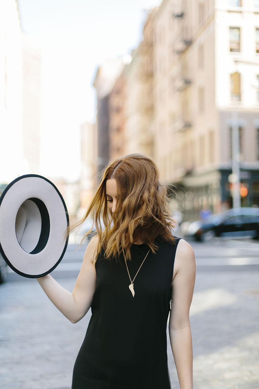 alicia lund veronica beard black midi dress