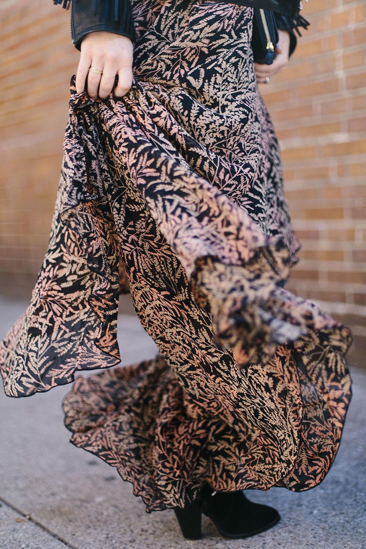 calypso st barth smithka tiered silk chiffon dress