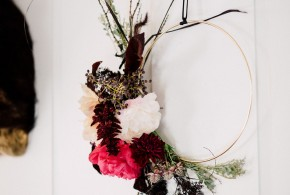 diy fall floral wreaths
