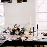 moody fall girls brunch at home