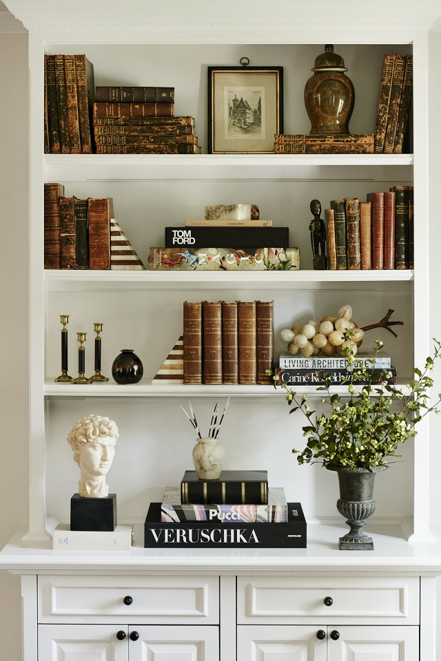 shelf styling inspiration
