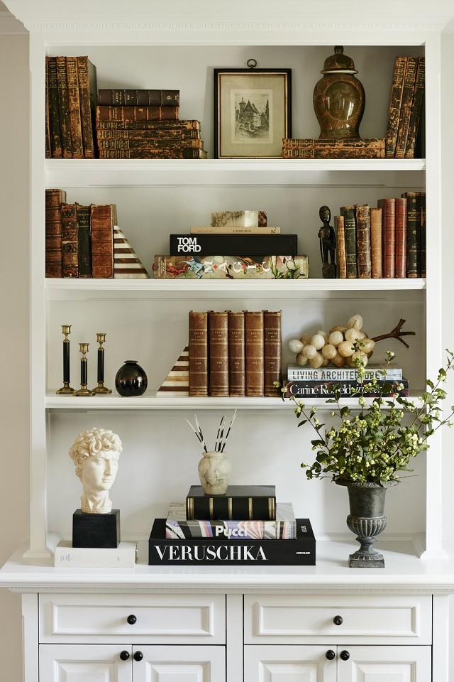 shelf styling inspiration