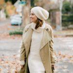 alicia lund winter white sweater dress