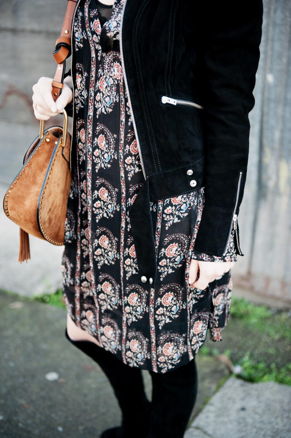alicia lund isabel marant floral dress