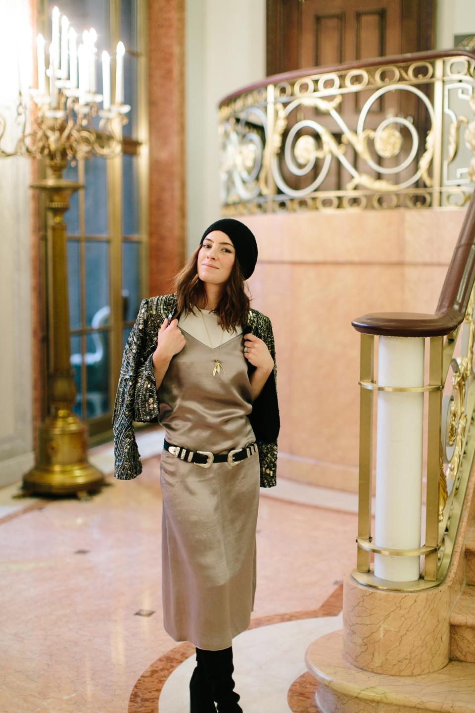 atm slip dress