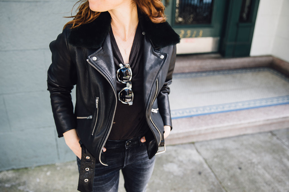 alicia lund veda leather jacket