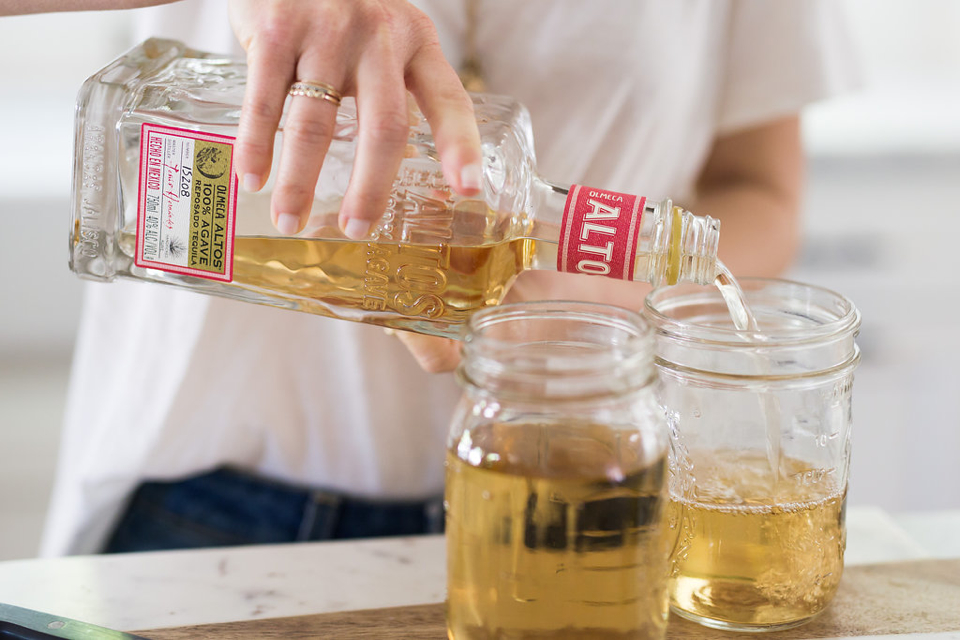 infused jalapeño tequila for spicy margaritas