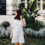 isabel marant white summer dress