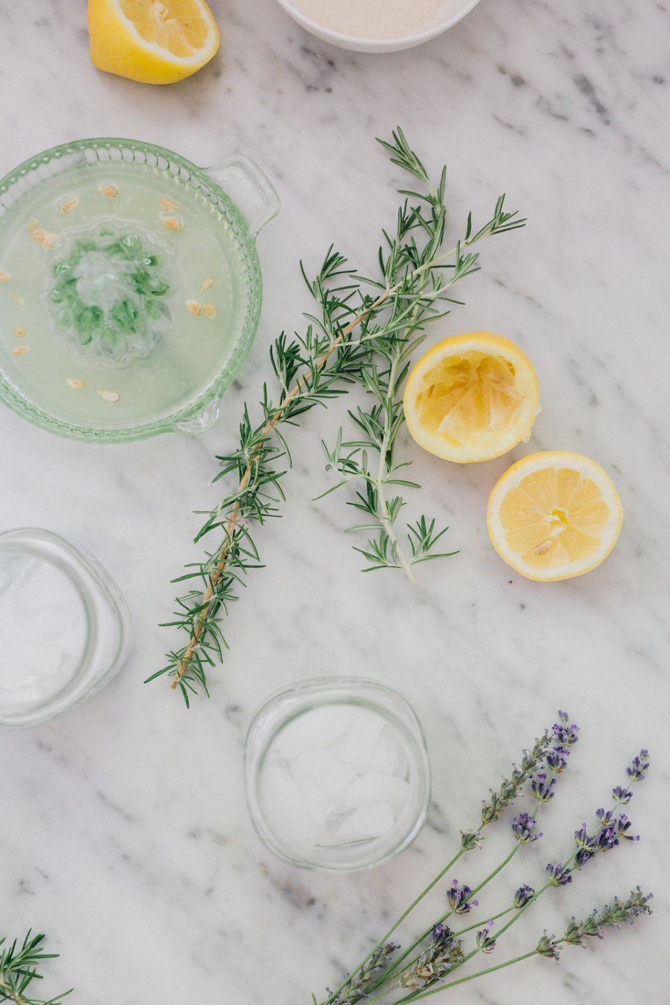 Rosemary and Lavender Infused Lemonade - Cheetah is the ...