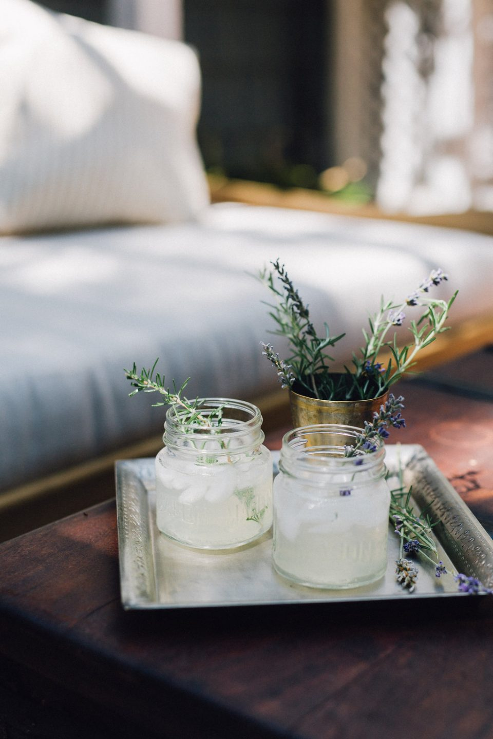 Rosemary and Lavender Infused Lemonade - Cheetah is the New Black ...