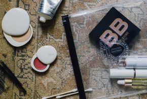 on the go beauty bag essentials
