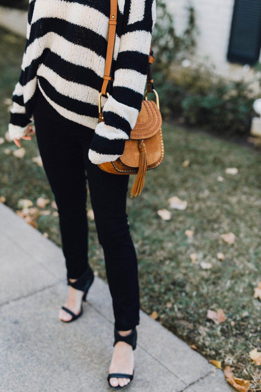 fall vibe black and white stripe cheetah is the new black