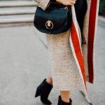 isabel marant tweed long coat