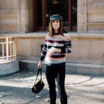 isabel marant multi-striped fall sweater