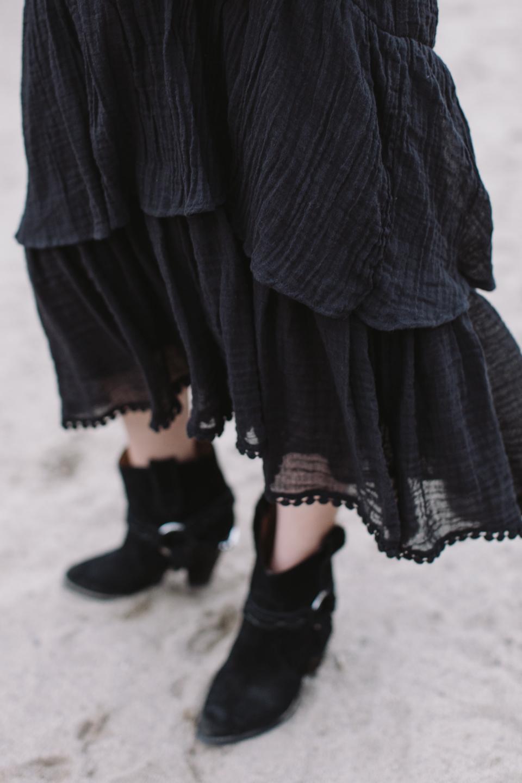 heidi merrick cotton gauze ruffle dress