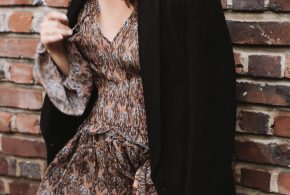 fall style: isabel marant blazer, iro dress