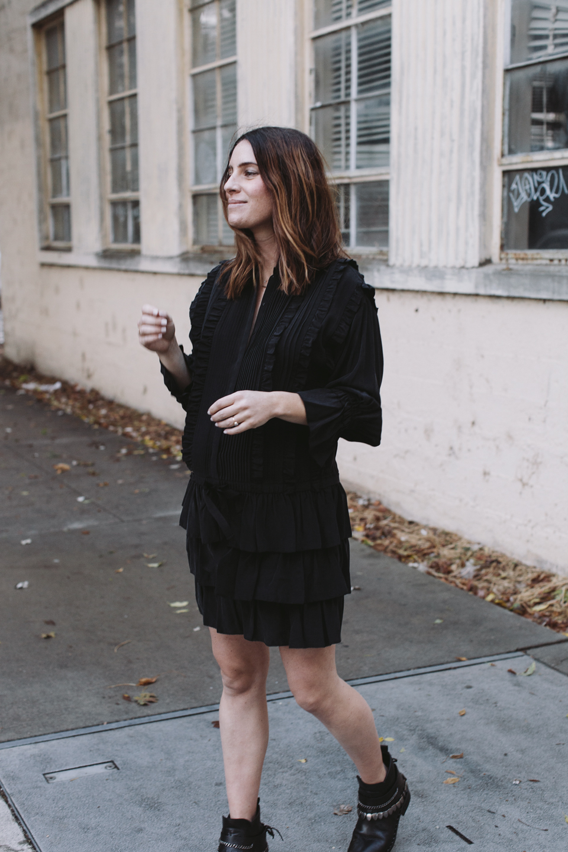ulla johnson marlie ruffle dress