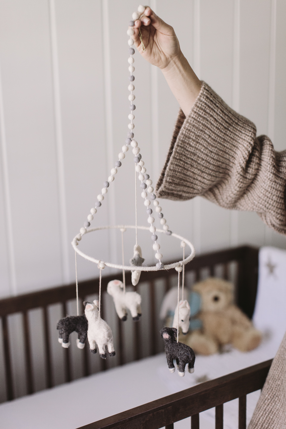 baby boy nursery room details