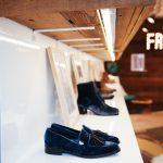 freda salvador velvet loafer