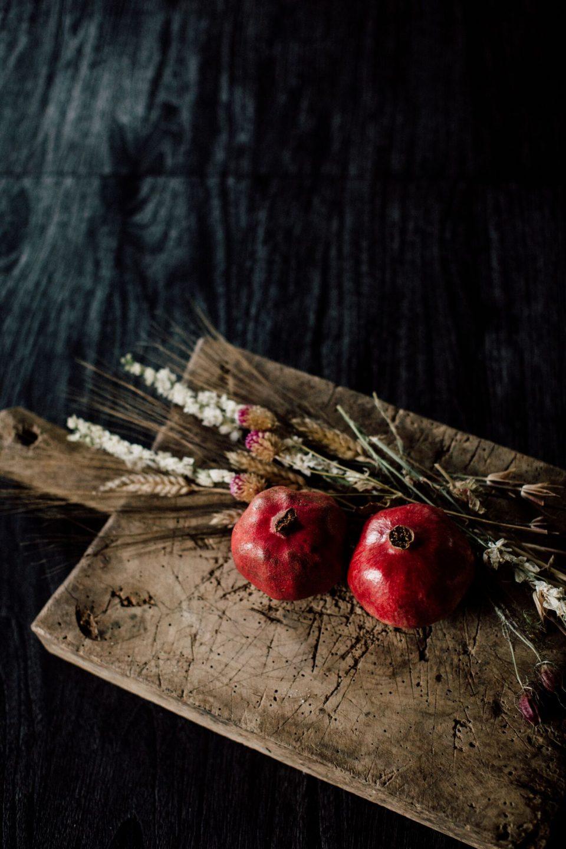 pretty dried fall floral arrangement