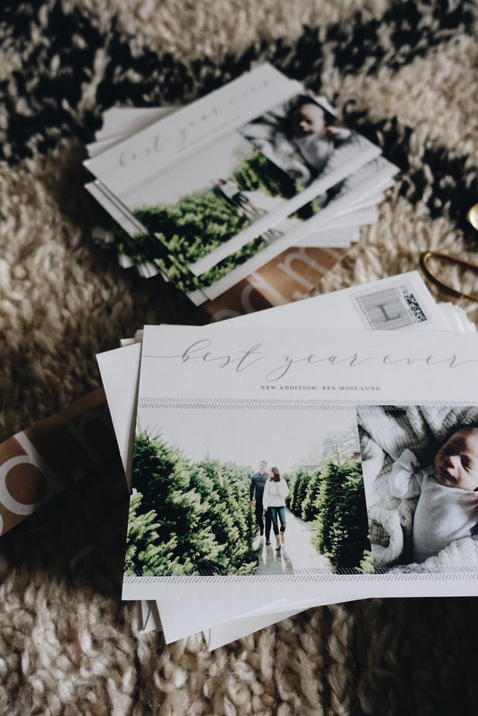 best year ever: minted holiday cards