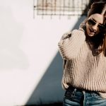 the perfect camel knit sweater