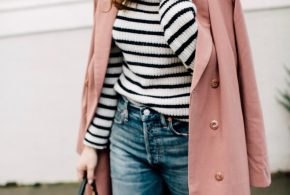 the perfect winter pink coat