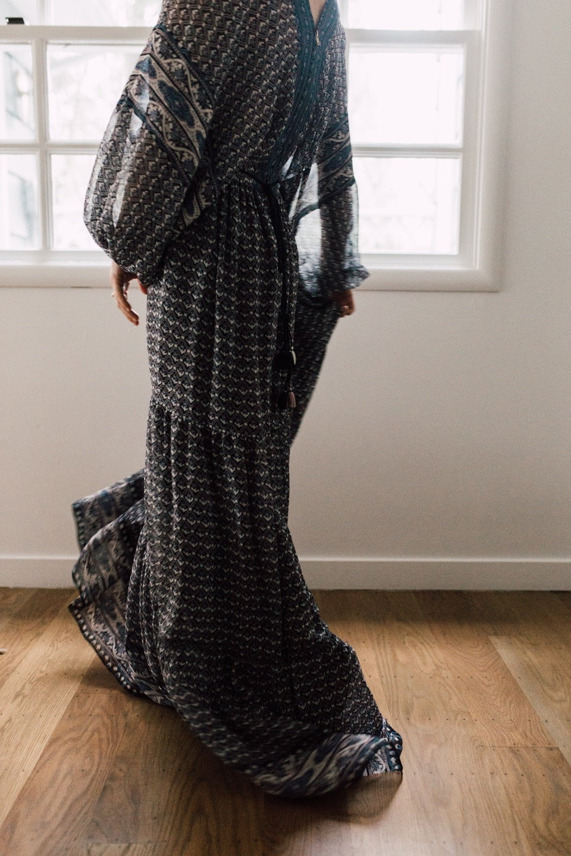 a dream of a maxi dress for spring