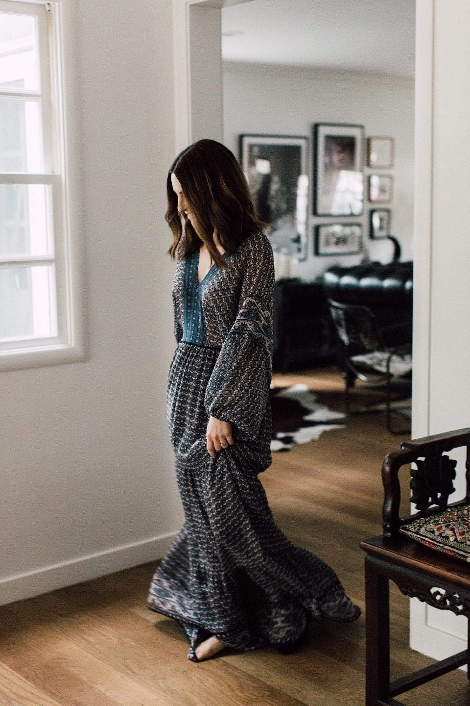 a dream of a maxi dress for spring