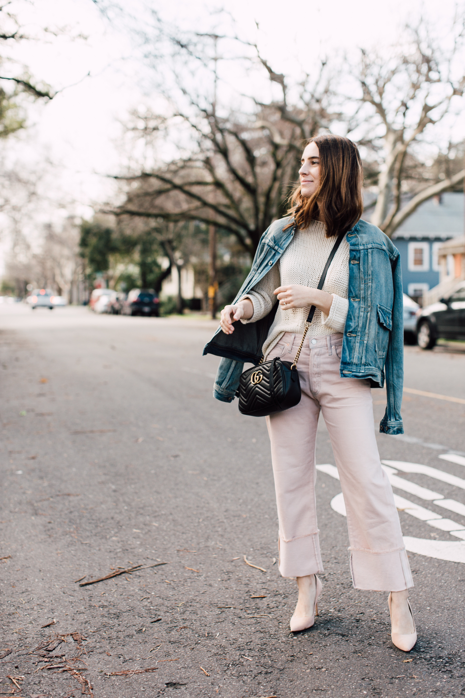pink denim for spring!