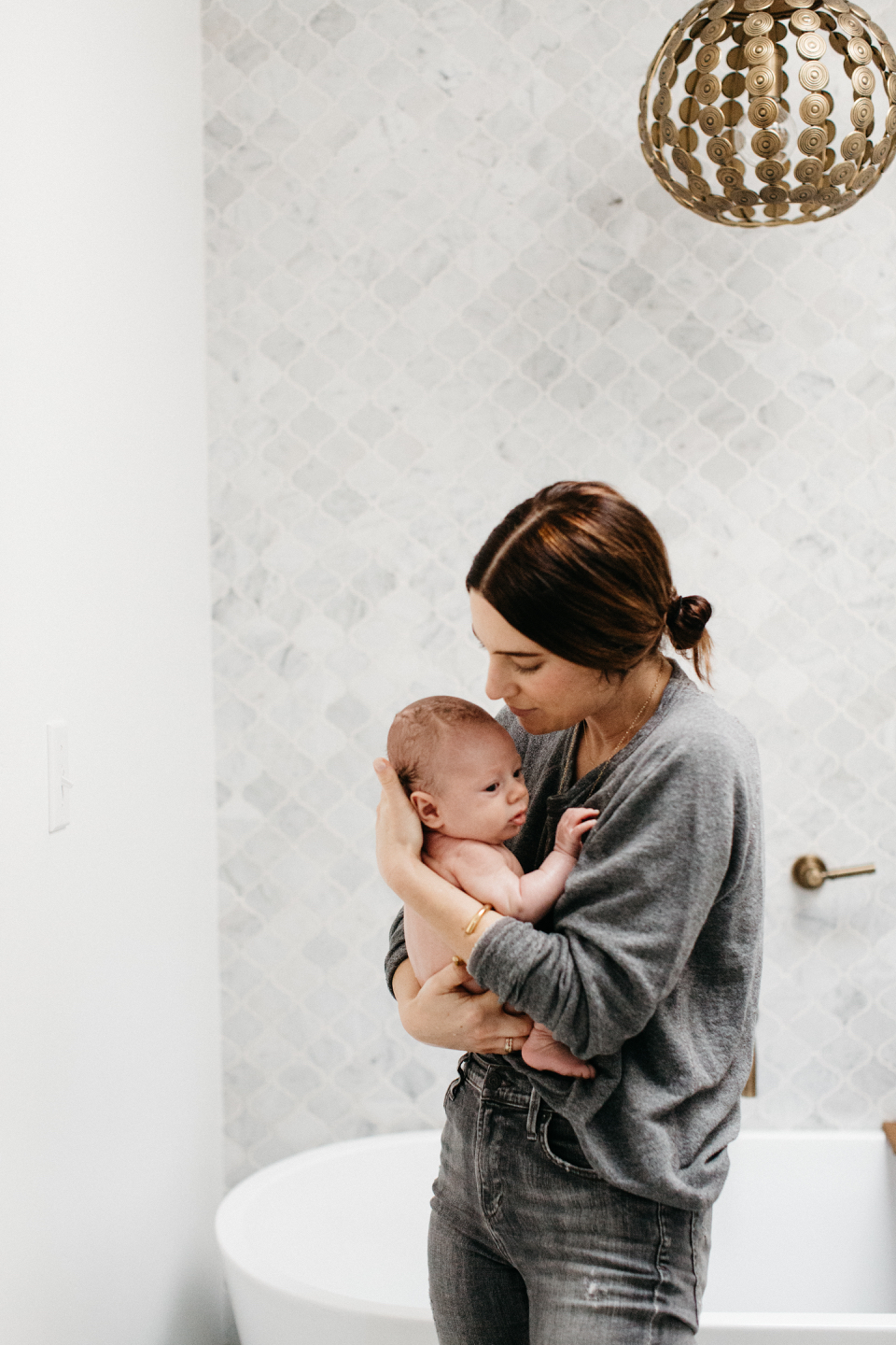 our bath time routine and the organic baby body wash we love