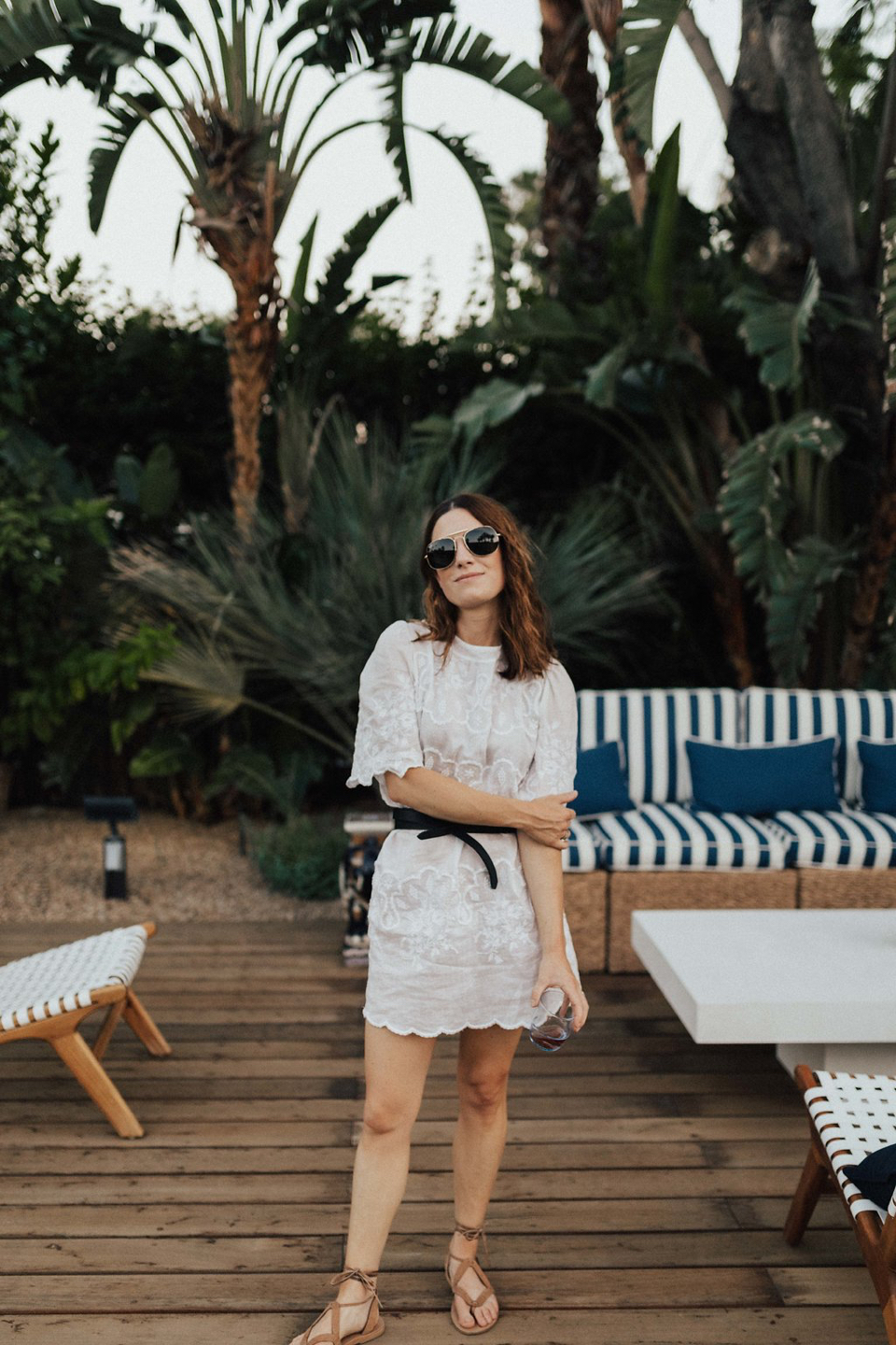 How to Update Last Summer's Little White Dress