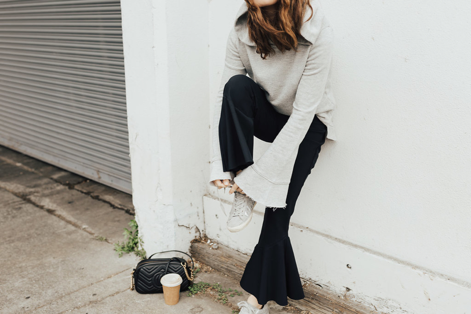 The Athleisure Flare Pant, 2 Ways