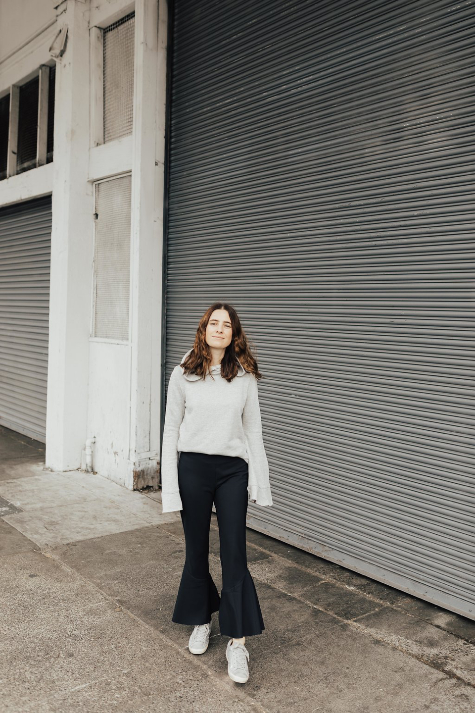 The Athleisure Flare Pant, Styled 2 Ways