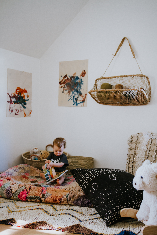 Rex's Nursery Reading Nook