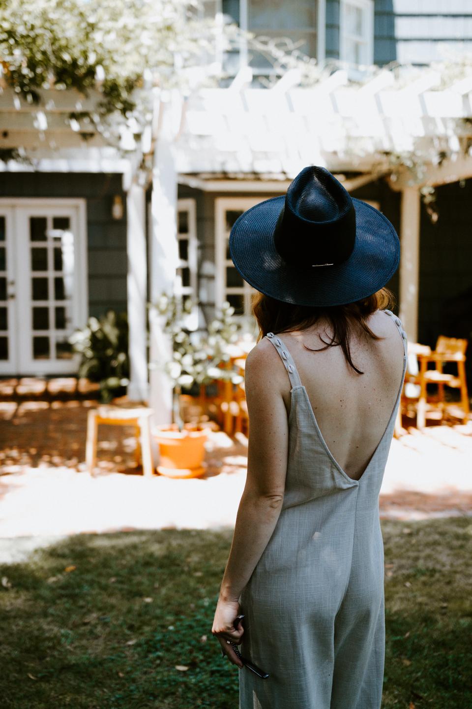Summer Uniform: The Linen Jumpsuit