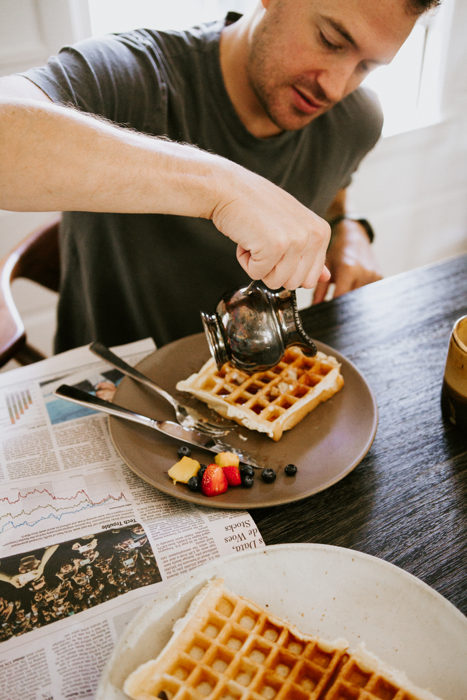 Sunday Indulgences | Waffles at Home