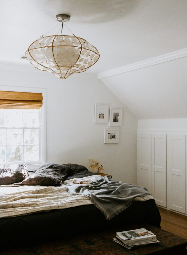 Darker bedding for fall / winter
