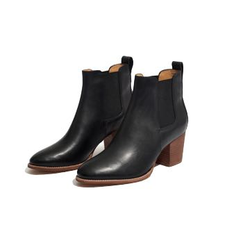 The perfect black boot for fall / winter | Madewell Regan Boot