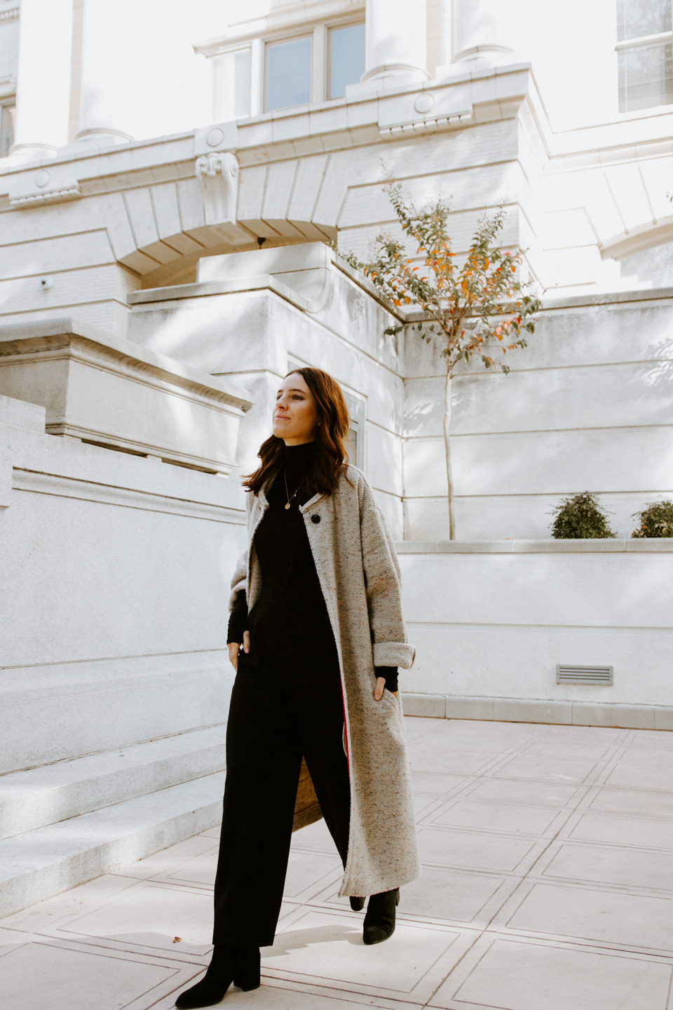 Holiday Season Hero | The Black Jumpsuit
