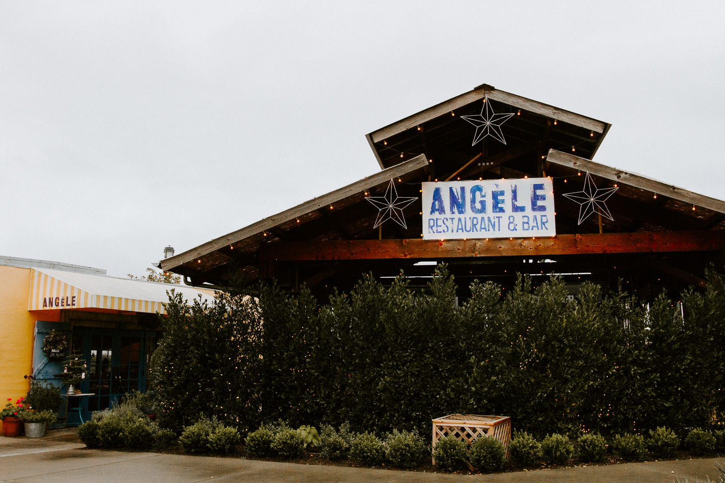 Where to eat in downtown Napa -- Angele Restaurant & Bar