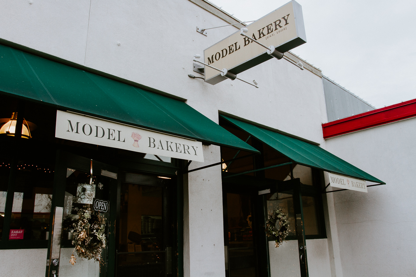Where to eat in downtown Napa -- Model Bakery