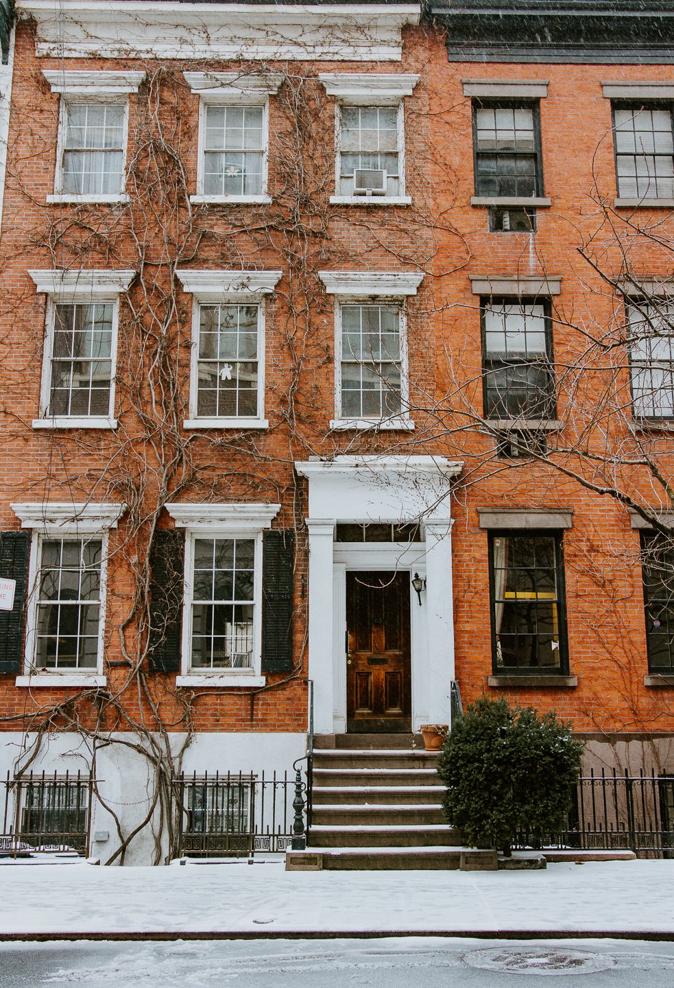 Why You Should Plan A Solo Trip -- From a snowy day in the West Village