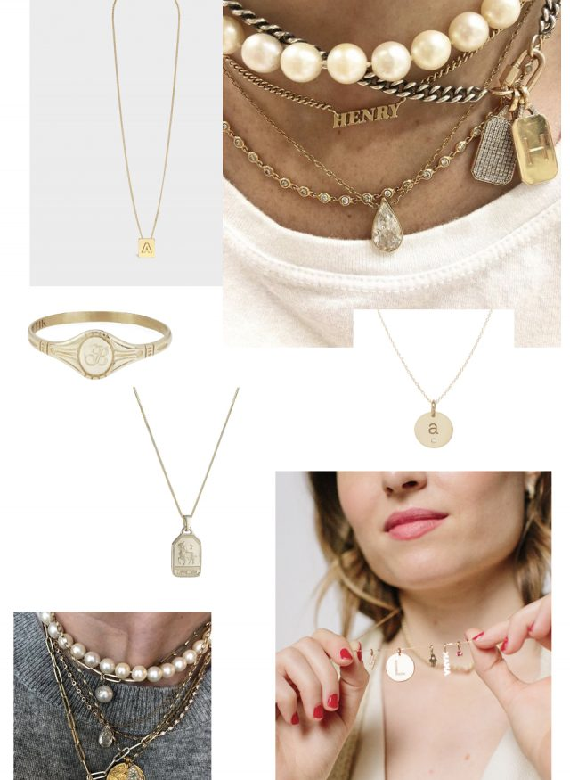 personalized jewelry edit | Mother's Day Gift Ideas
